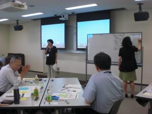 それぞれのグループによる発表と総括が行われ、豊富な事例が参考になったという声が参加者から多く聞かれました