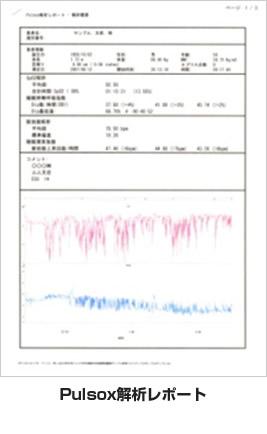 Pulsox解析レポート